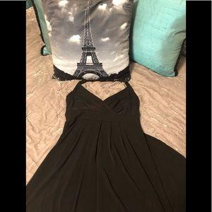 New York and company black maxi dress